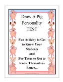 Draw A Pig Personality Test - Analyzing Activity