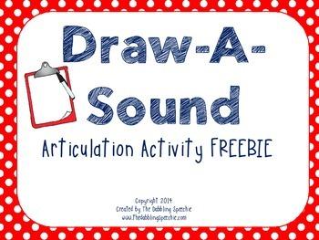 Draw-A-Sound FREEBIE