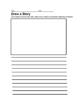 Draw A Story Templates - Common Core Worksheets - 16 Templates