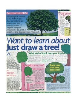 Draw A Tree Lesson Plan and Activity Engaging Critical Thinking Analyzing