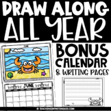 Directed Drawing Slides Editable Calendar 2021