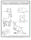 Draw Austrailian Animals