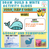 Draw, Build And Write Activity Slides Google And PowerPoint