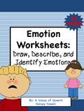 Draw, Describe, and Identify Emotions