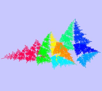 Draw Dragon Fractals with a Computer