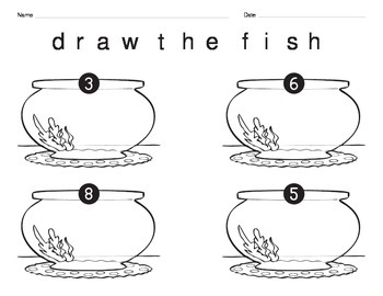 Draw Fish to Show a Number