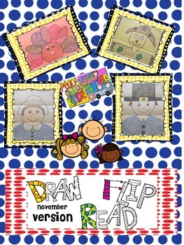 Draw, Flip, Read-November Version NO FLIPBOOKS INCLUDED