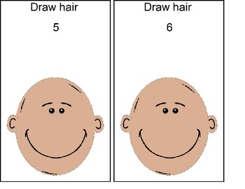 Draw Hair Cards