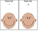 Draw Hair Cards