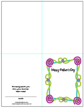 Draw Happy Father's Day Activity Bundle!