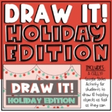 Draw It! - Holiday Edition - Digital Morning Meeting Games