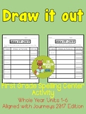 Draw It Out Spelling Center - Grade 1 - Aligned with Journeys 2017: Units 1-6