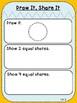 Draw It, Share It Mat ***FREEBIE*** (First Grade, 1.G.3)