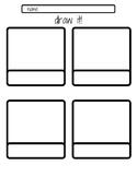 Draw It! - Vocabulary Worksheet