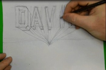 Draw Letters 3D Step By Step Block Lettering Explained