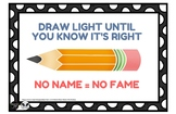 Draw Light Until You Know It's Right
