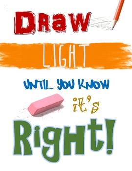 Draw Lightly Poster