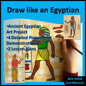 Draw Like An Egyptian Ancient Egyptian Art Project