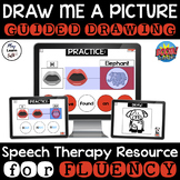 Draw Me A Picture - Fluency - Boom Cards - Guided Drawing