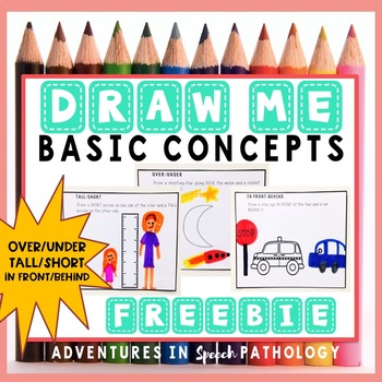Draw Me Basic Concepts - Freebie