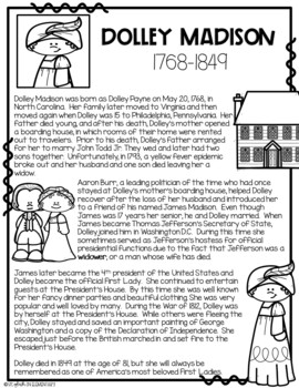 Draw Me! Dolley Madison-Directed Drawing (CKLA, Core Knowledge)