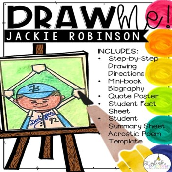 Draw Me! Jackie Robinson-Directed Drawing (CKLA, Core Knowledge)