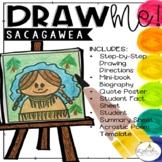 Draw Me! Sacagawea Directed Drawing