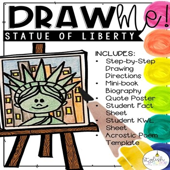 Draw Me! The Statue of Liberty - Directed Drawing (CKLA, Core Knowledge)