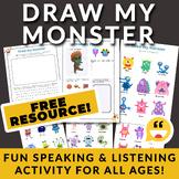 ESL Game!! ☀ Draw My Monster ☀ - Amazing English Game (Bod