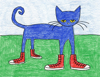 Draw Pete the Cat