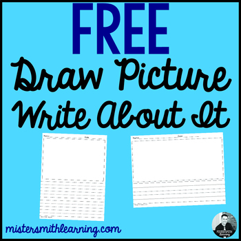Free: Draw Picture and Write About It. (assortment of pages)
