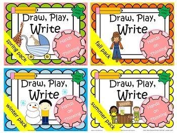 Draw, Play, Write! K-1 BUNDLE
