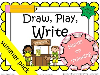 Draw, Play, Write! K-1 Summer Pack