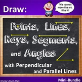 Draw Points, Lines, Segments, Rays, Angles... (Mini Bundle)