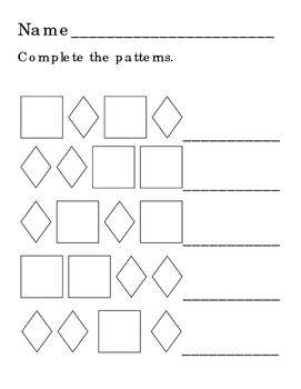 Draw Pumpkins Complete Pattern Rhombus Diamond Square Vegetables Addition 4p