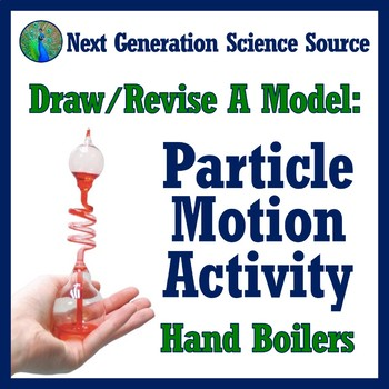 Draw/Revise a Model: Particle Motion Thermal Energy Activity (middle) MS-PS1-4