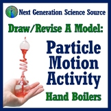 Draw/Revise a Model: Particle Motion Thermal Energy Activity Worksheet MS-PS1-4