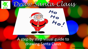 Draw Santa for Christmas