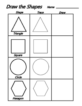 Draw Shapes - Common Core Basic Geometry
