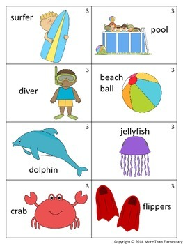 Draw Three Silly Story Starters- Beach Edition- Creative Writing Activity