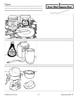 Draw What Happens Next (peanut butter)