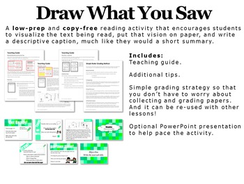 Textbook Activity - Draw What You Saw