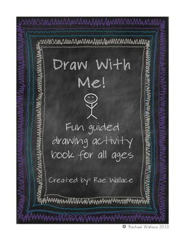 Draw With Me! Guided Drawing Activity Pack