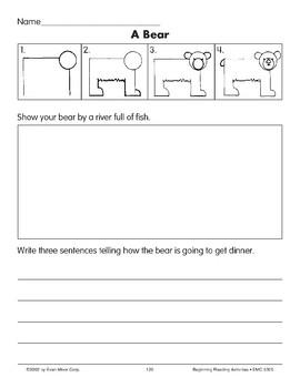 Draw/Write: A Bear