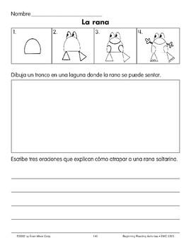 Draw/Write: A Frog