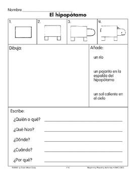 Draw/Write: A Hippo