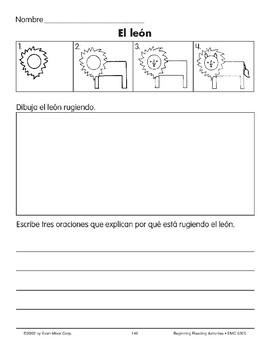 Draw/Write: A Lion