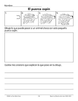 Draw/Write: A Porcupine