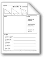Draw/Write: A Race Car