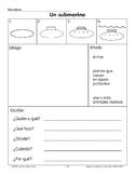 Draw/Write: A Submarine